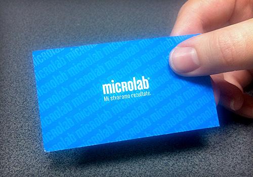 Microlab vizitka